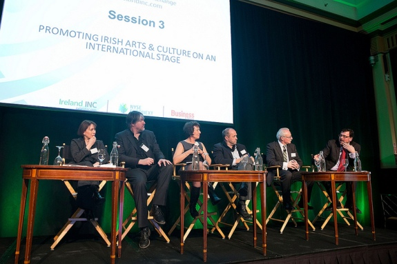Ireland Day NYSE panel means business when it comes to arts & culture